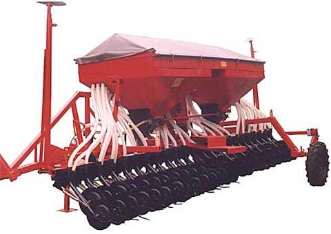 Сеялка для зерновых, зернобобовых и травяных культур с дисковым сошником СПУ-4Д