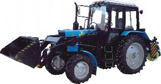 Фреза дорожная ФД – 567 на базе трактора Беларус 82.1