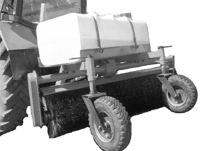 Поливомоечное щеточное оборудование УМДУ-80/82.02 ЛЮКС ПМ