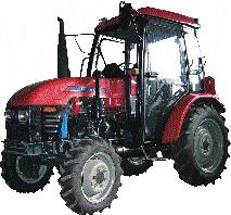 Универсальные колесные тракторы TS250, TS254, TS300, TS304