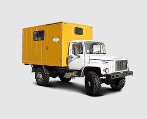 Автомастерская на базе ГАЗ 3309, 3308