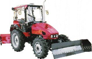 Коммунальные машины на базе тракторов ВТЗ