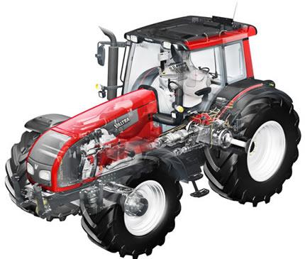 Тракторы Valtra T 191