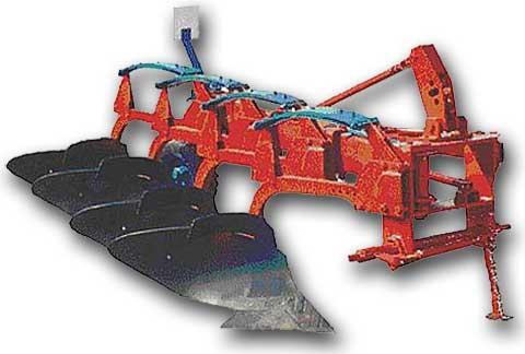 Плуги 4-х корпусные навесные для каменистых почв ПКМП-4-40Р(ПКМ-4-40Р)