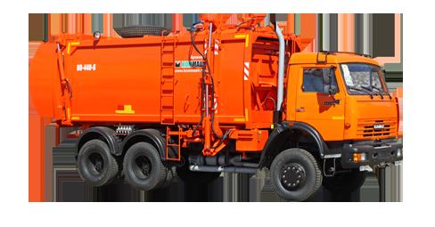 Машина мусоровозная КО-440-6