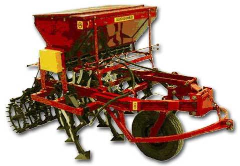 Сеялка-культиватор стерневая зернотуковая СКС-2