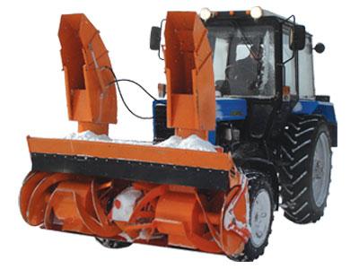 Снегоуборщик СУ 2.1 для трактора МТЗ
