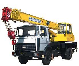 КС – 35715 «Ивановец» на базе МАЗ – 5337А2