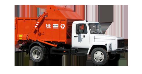 Машина мусоровозная КО-440