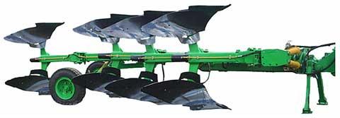 Плуг 4-х корпусной оборотный полунавесной ПОПГ-4-40 с пневмогидрозащитой