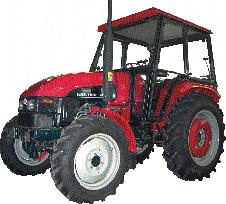 Универсальные колесные тракторы КМ450, КМ454, КМ550, КМ554